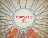 Carnival, Fair, Summer Postcard Set of 5, 4 x 6 Art Postcards