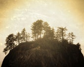 Landscape, I am a Rock, I am an Island,  8 x 10 Photography Art Print