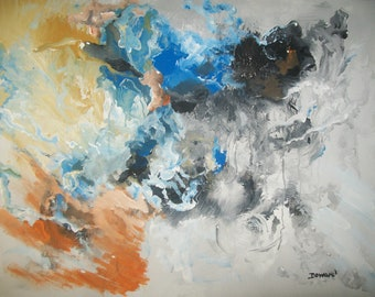 Modern 16x20 Abstract  Painting