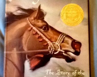 RARE Vintage Story Book for Children, winner of 1949 Newbery Medal 'King of the Wind: The Story of the Godolphin Arabian' Marguerite Henry