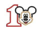 Mickey Mouse Applique, Embroidery Design, Embroidery Design (139) Instant Download