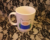 Hand-Painted Adventure Time Mug for glew