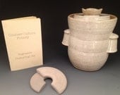 Fermentation Jar in Country White