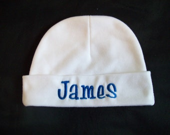 Personalized Baby Hat  - embroidered Personalized Baby Cap