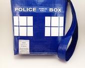 Doctor Who TARDIS Duct Tape Purse TARDIS Hand Bag