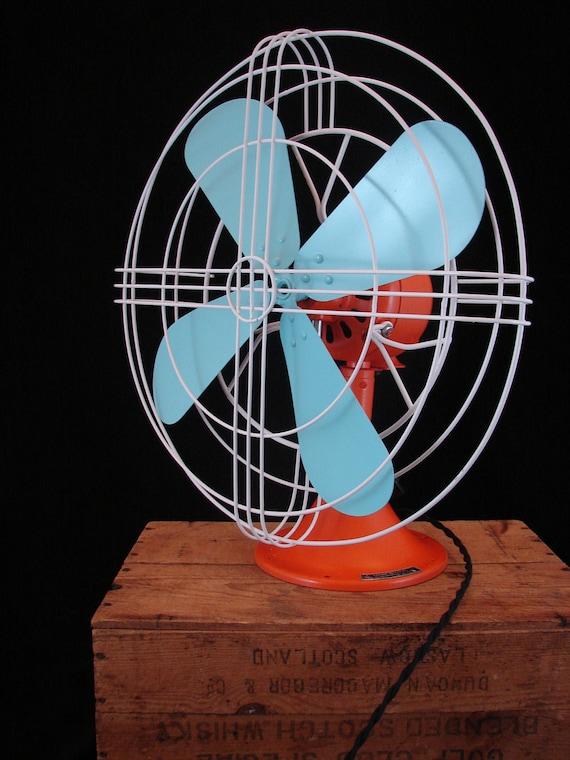 Refurbished Vintage Electric Fan