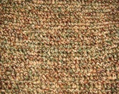 Fall Colors--Olive Green, Brown, Beige Afghan (3 ft x 5 ft)  (7)