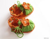 Baby summer sandals,crocheted bab girls  sandals , baby girls shoes/ size 0-3M