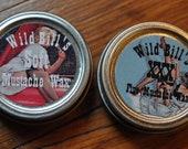 Wild Bill's Mustache Stiff and Soft Wax Mustache Grooming Set
