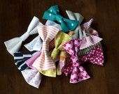 Bow Tie / Hair Bow - Choose Two