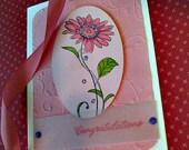 Blank Congratulations Card