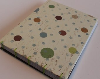 Dotty Small Hand Bound Art Journal