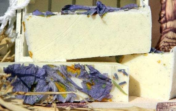 Soap Lavender Martini Cold Process Vegan Soap