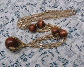 Vintage Claw and Ball pendant