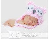 Custom Listing for Susan Sleeping Owl Hat