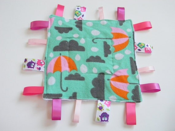 Rainy Day Crinkle Tag Toy