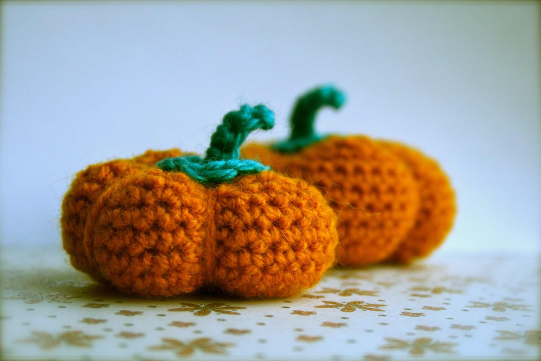 Halloween Pumpkin Amigurumi : Halloween crochet pattern Amigurumi crochet pumpkin by ...