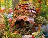 Fairy House, Acorn House, Miniature House, Woodland Fairies, Fairies, Autumn
