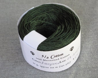 Evergreen 5/2 Mercerized Cotton