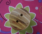 Wood Buttons Handmade Wood Buttons One Inch Wood Buttons