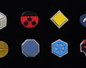 Pokemon Johto League Badge Set