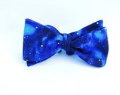 Boys Bow Tie Family Portrait Photo Prop Celestial Print
