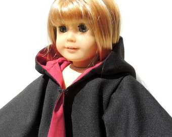 "Gryffindor Harry Potter Cloak fits 18"" Doll like American Girl"