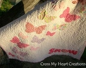 Butterfly Quilt-Made to Order and Personalized