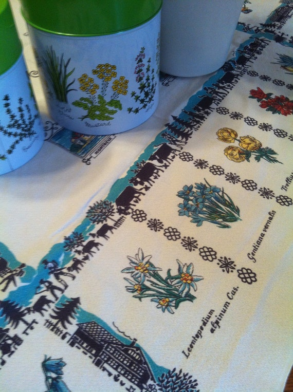 Tablecloth with Plants
