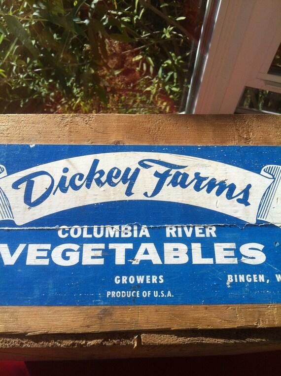 Dickey Farms Vegetable Box