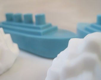 Titanic Soap and Icebergs