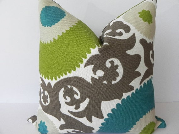 Suzani both sides 20x20 pillow by pillowchix on etsy for 20x20 living room