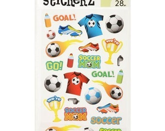 84 Soccer Stickers