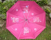 Umbrella Flowers Decorated Personalized Gift For Her Customized Gift