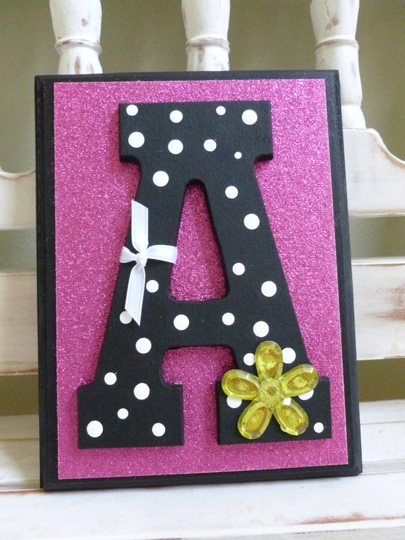 custom letters for wall items similar to teen tween contemporary chic custom 21274