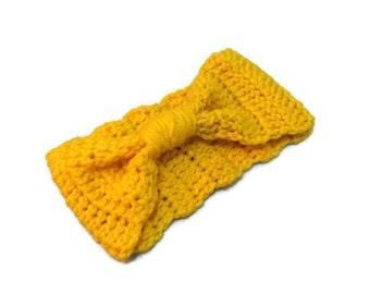 The Montpelier Turban Ear Warmer in Mustard yellow. Ear Warmer, Head Dress, Winter Fashion, Hair Bands Hair Coverings for Women