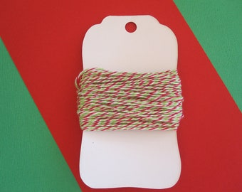 15 Yrds of Holiday Bakers Twine