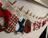 Mini Christmas Stocking Advent Calendar
