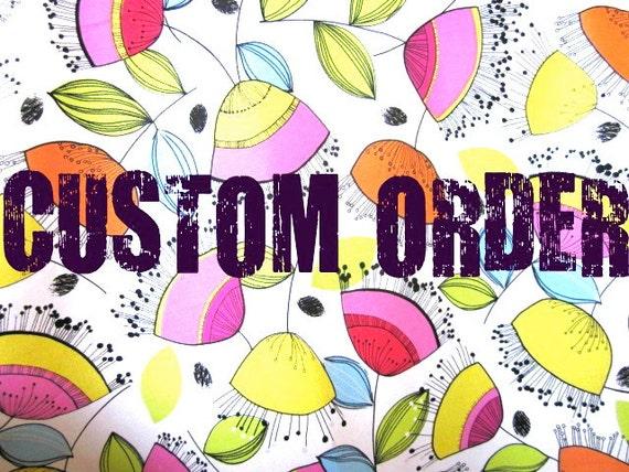 Custom Order For M.