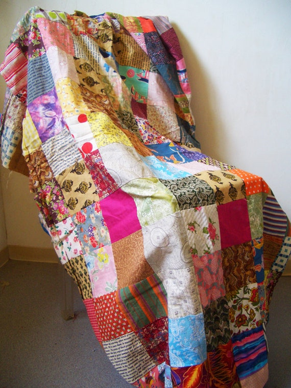 Handmade Patchwork fabric