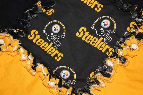 Pittsburgh Steelers Rag Quilt
