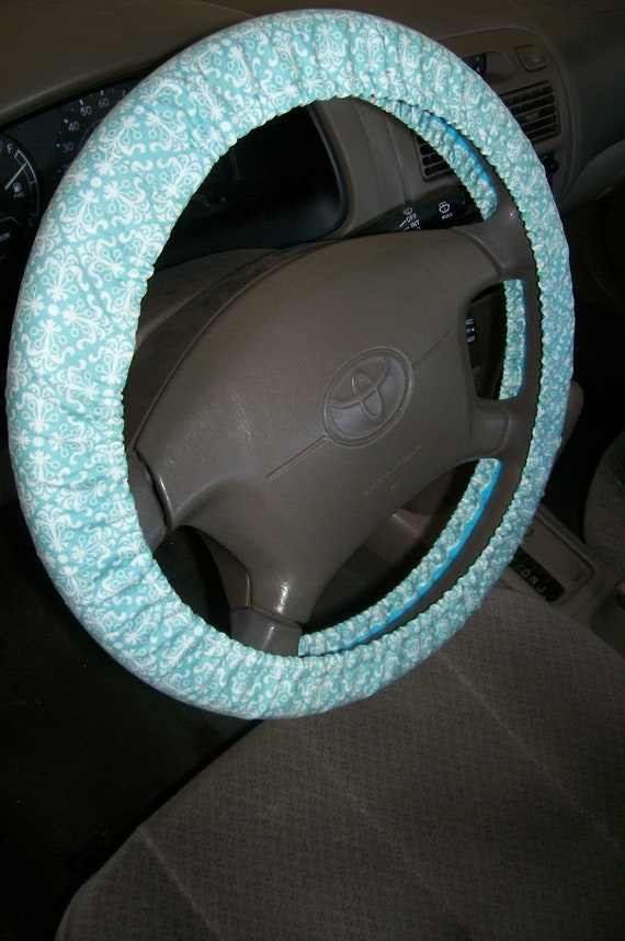 Aqua Steering Wheel Cover