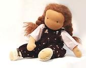 Waldorf doll 16 inches made of natural materials