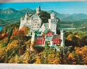 German Castle Vintage Postcard