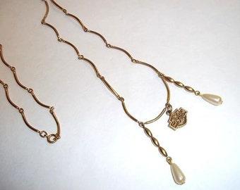 Harley Davidson Shield Necklace