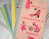 Set of Four Vintage Best In Children's Books