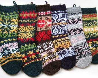 norwegian knitting pattern, Christmas stockings pattern, knitting christmas decoration, knitted christmas stockings, christmas socks
