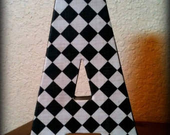 CUSTOM Cardboard Letter of Choice 8 inches tall