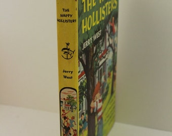 The Happy Hollisters Cowboy Mystery by Jerry West