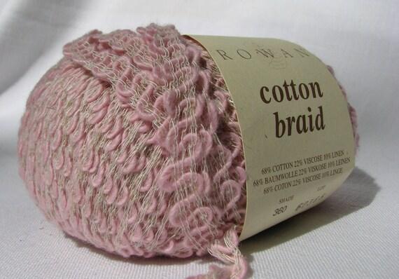 Pink  Rowan Braid Yarn-2 skeins